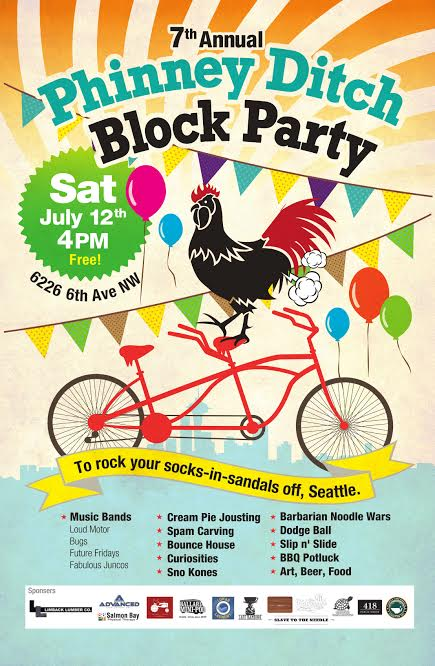 phinney ditch block party