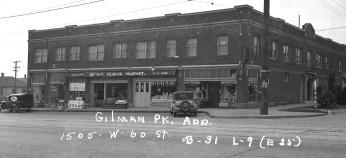 Gilman Park Bldg. 1937 cropped