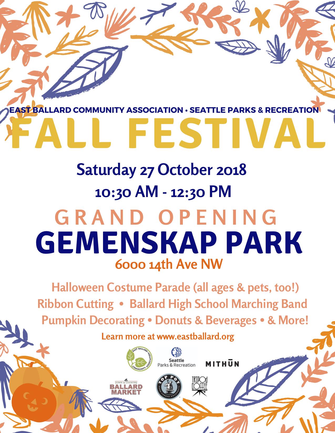 EBCA Fall Festival