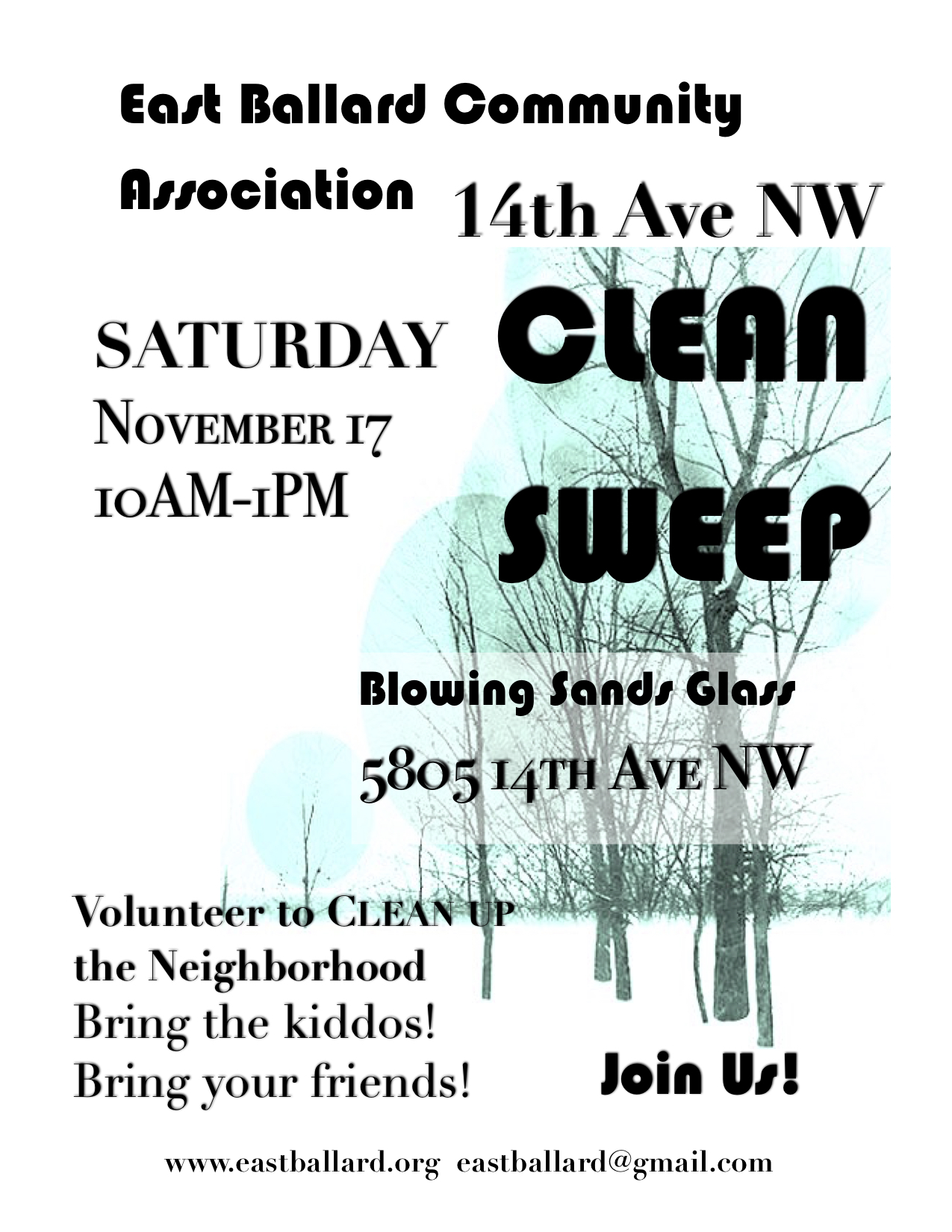 2018 FALL CLEAN SWEEP FLYER